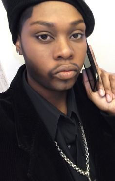 Drag King......DUDE'S A LADY....#legit....If I were a boy....#makeup#yaasss