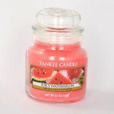 Bougie parfumée Petite jarre JUICY WATERMELON Yankee Candle exclu US