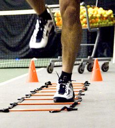 It is extremely important for a tennis coach not only to know how to instruct their players on the court, but also how to train them physically off the court. Conditioning is a vital part of a player's training, so a coach must be sure that they train their players correctly. Coaches should focus on running drills that work on quick movements and reaction time. http://optimumtennis.net/images/tennis-conditioning.jpg