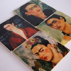 Today in 1907 the unforgettable Frida Kahlo was born - $34.00 from The Painted Lily on Etsy