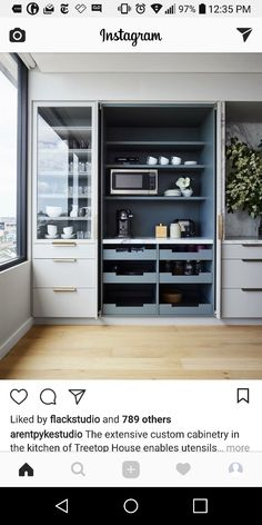 Kitchen Pantry Cabinet Custom Cabinetry 15 Super Ideas Kitchen Pantry Cabinet C… - Pantry Cabinets Room Kitchen Pantry Design, Kitchen Pantry Cabinets, Design Your Kitchen, Kitchen Cabinet Organization, Kitchen Cupboards, Kitchen Interior, New Kitchen, Cabinet Organizers, Kitchen Organizers
