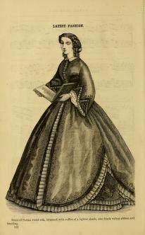 Godey's lady's book 1863 Jan -June; Jul - Dec