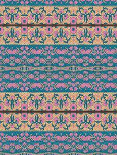 aztec beauty-- fabric by paulette_paulo on Spoonflower - custom fabric