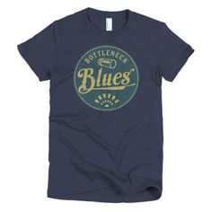 Bottleneck Blues women's t-shirt