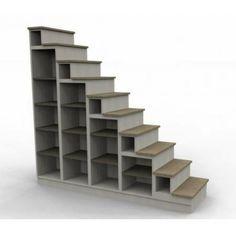 Escalier bibliothèque.