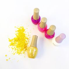 Optimist is a sunny new foil shimmer and a part of our Summer GOLD Collection, Empower. Available now at SpaRitual.com!