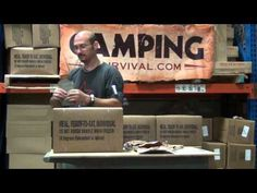 ▶ Real Military MREs at CampingSurvival.com - YouTube