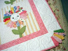 . PINK PINCUSHION: BQF: Baby Quilt Entry, Sunflower Baby