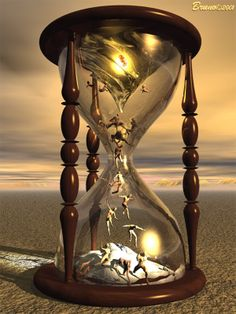 The more sand that has escaped from the hourglass of our life, the clearer we should see through it ~ Jean Paul Hourglass Tattoo, Arte Obscura, Sand Timers, As Time Goes By, Steve Jobs, Surreal Art, Oeuvre D'art, Photo Manipulation, Dark Art