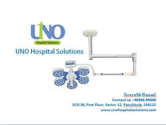 Imported OT Lights Equipment in UNO Hospital Solutions. We offer you the light you need. We provide both Indian & Imported Halogen / LED OT Lights.