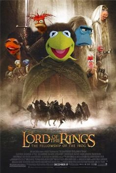 LOTR Muppets: funny, but seriously, Miss Piggy as Galadriel? Jim Henson, Fellowship Of The Ring, Lord Of The Rings, Die Muppets, Hugo Weaving, Pokerface, Fraggle Rock, The Muppet Show, Rainbow Connection