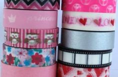Washi Tape Pack 10 Rolls - Girly Pink Mixed Pack