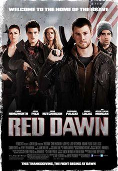 red dawn - 2012 best movie ever!!!!!