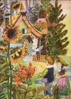 Hansel et Gretel - Illustration de Cremonini