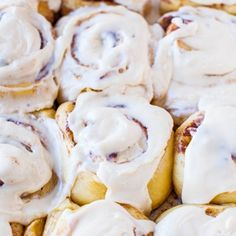 To date, the best cinnamon rolls I've ever had. They're soft and fluffy and taste better than the kind you get at the mall. The recipe is very do-able even if you've never made cinnamon rolls. The overnight make-ahead option means you can wake up, pop cin