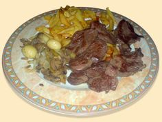 Churrasco cordobés acompañado de salsas árabes - La Cocina Andaluza