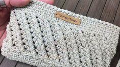 Crochet Clutch, Crochet Handbags, Crochet Purses, Crochet Bags, Love Crochet, Crochet Motif, Knit Crochet, Crochet Patterns, Crochet Bag Tutorials