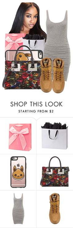 """""""Outlets for Kaylor's BDay Today 👏🏽🎉🛍"""" by shamyadanyel ❤ liked on Polyvore featuring Casetify, Charles Jourdan and NIKE"""