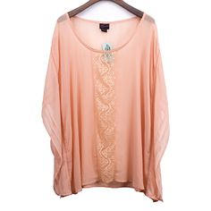 Lace Embellished Woven Fabric Blouse