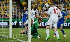 Wayne Rooney's winner against Ukraine sends England through to the Quarterfinals #Euro2012 I love Soccer!!