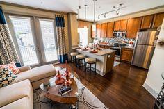 We love the open concept in our apartment homes! #livelikealegend #Nashville #DallasonElliston