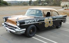 Learn more about Yunick Style: 1957 Chevrolet Vintage Stock Car on Bring a Trailer, the home of the best vintage and classic cars online. Classic Race Cars, Best Classic Cars, Classic Cars Online, Nascar Race Cars, Old Race Cars, Sport Cars, 1957 Chevrolet, Chevrolet Trucks, Chevy