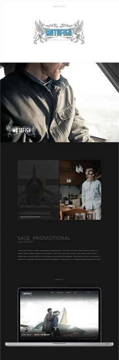 Brand and Custom site for MotofishImages http://motofishimages.com #flosites #floagency #interactive #layouts #design #fullscreen #responsive