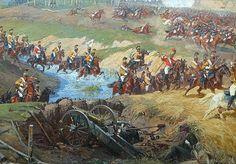 Guardie del corpo sassoni alla battaglia della Moscova