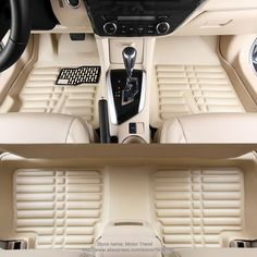 Custom fit car floor mats for Toyota Yaris 3D special all weather heavy duty car-styling leather carpet floor liners(2005-now)