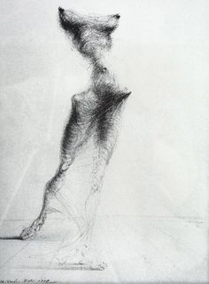 Salvador Dali, Gradiva, 1938