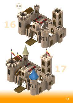 Planos de montaje del Exin Castillos Nuevo Morgandor Restaurado - Página 11