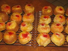 Skinny Pineapple Upside-Down Cupcakes 133 calories #LoseWeightByEating