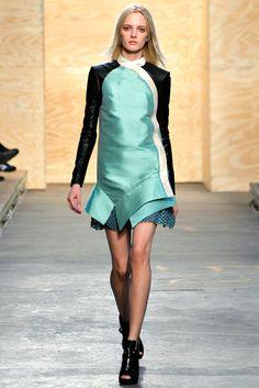 Proenza Schouler Fall 2012 Ready-to-Wear Fashion Show - Daria Strokous
