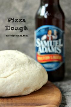 Bread Machine Pizza Dough- This recipe is simple to make. Use your bread machine for a quick and easy pizza dough! Get the recipe at kissmysmoke.com