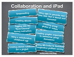 Gotta love this nicely designed Thinglink focusing on Collaboration and the iPad from none other than the app-tastic Mathy Cathy.