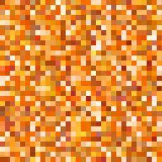 orange topaz pixels fabric by weavingmajor on Spoonflower - custom fabric