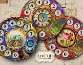 CALL ME - inch - Digital Collage Sheet - Circle Images for Pocket Mirrors, magnets, scrapbooking, coasters Art File, Mixed Media Collage, Collage Sheet, Digital Collage, Mirrors, Cool Art, Art Projects, Magnets, Mandalas