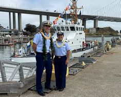 Lt.j.g. Kiana Kekoa relieved Lt. Nolan Salyer as the commanding officer of the Coast Guard Cutter Tern in a change-of-command ceremony held at Coast Guard Sector San Francisco. Patriotic Poems, Coast Guard Cutter, San Francisco, United States, Change, U.s. States