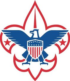 Boy Scout Official Eagle Scout Court of Honor Felt Banner red White and Blue New