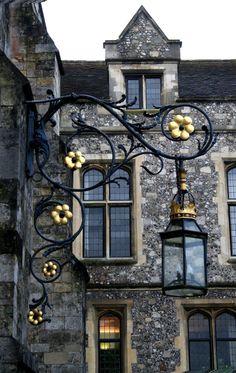 Lantern, Winchester, England photo via linxy