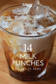 14 Delicious Milk Punches to Drink in Bars Now