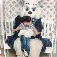 Someone doesn't like the Easter Bunny