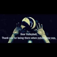 dear volleyball
