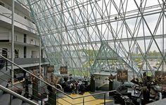 De foyer van het Hampshire Hotel - Groningen Plaza.