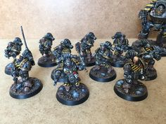 Page 4 of 6 - Tyrants of Olympia - Horus Heresy Iron Warriors - posted in + WORKS IN PROGRESS +: The Iron Warriors are looking great. I especially like the blood and gore. Looks really really good