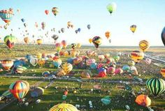 One day I want to go on a Hot Air Balloon Ride