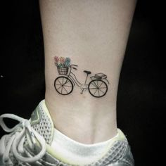 23 Bike Tattoos For The Hardcore Cyclists