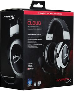 Amazon.com: HyperX Cloud Gaming Headset for PC, Xbox One¹, PS4, PS4 PRO, Xbox One S¹ (KHX-H3CL/WR) - Black: Computers & Accessories