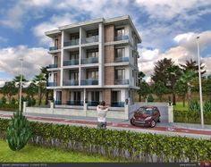 cephe 2 Arch Building, Building Facade, High Rise Apartments, Building Elevation, Condo Design, Affordable Housing, Residential Architecture, Exterior Design, Villa