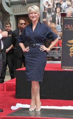 """Helen Mirren - """"Hand And Footprint Ceremony""""  2011"""